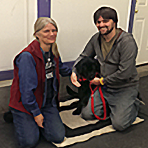 Magpie the black lab group dog training class review